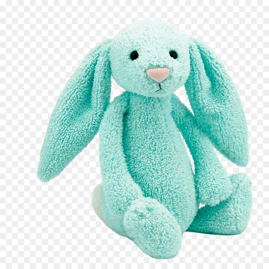 Rabbit Stuffed Toy Drawing Jellycat Blue Bunny Png Download 1181