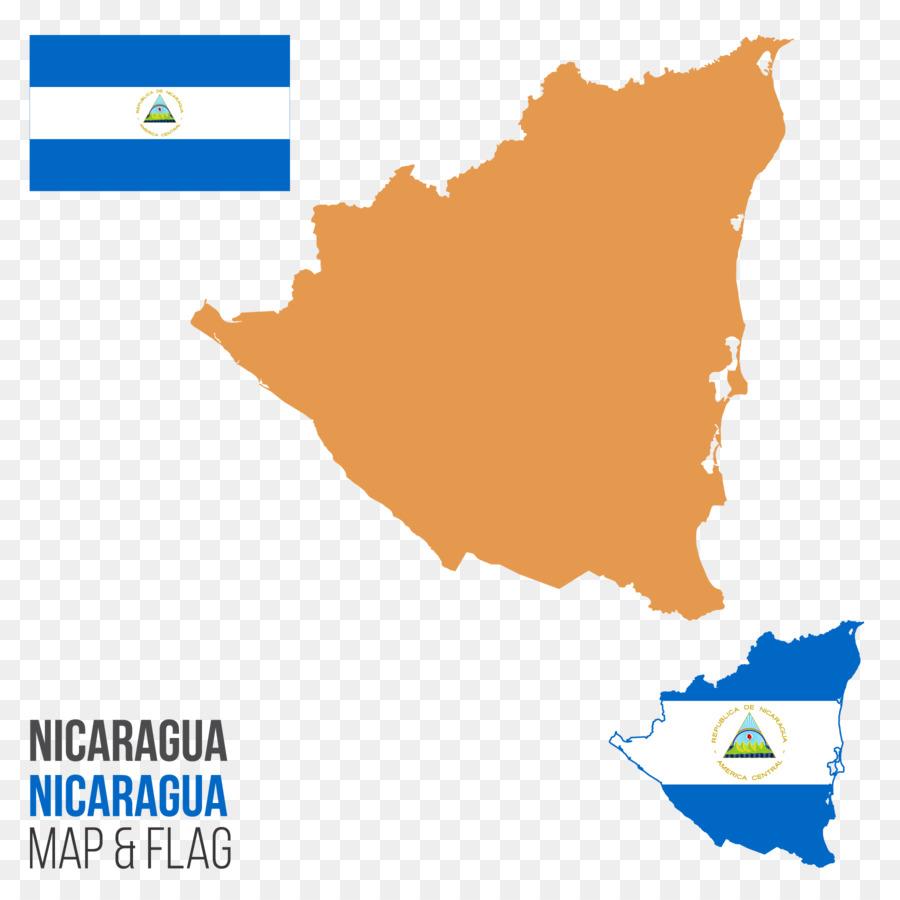 Nicaragua Map Royalty-free Illustration - Nicaragua vector map png ...