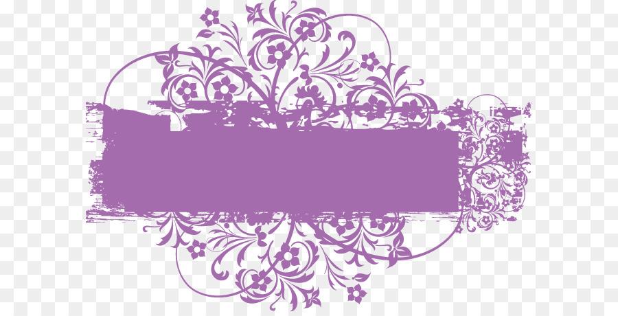 Text Box Dialog Box Purple Euclidean Vector