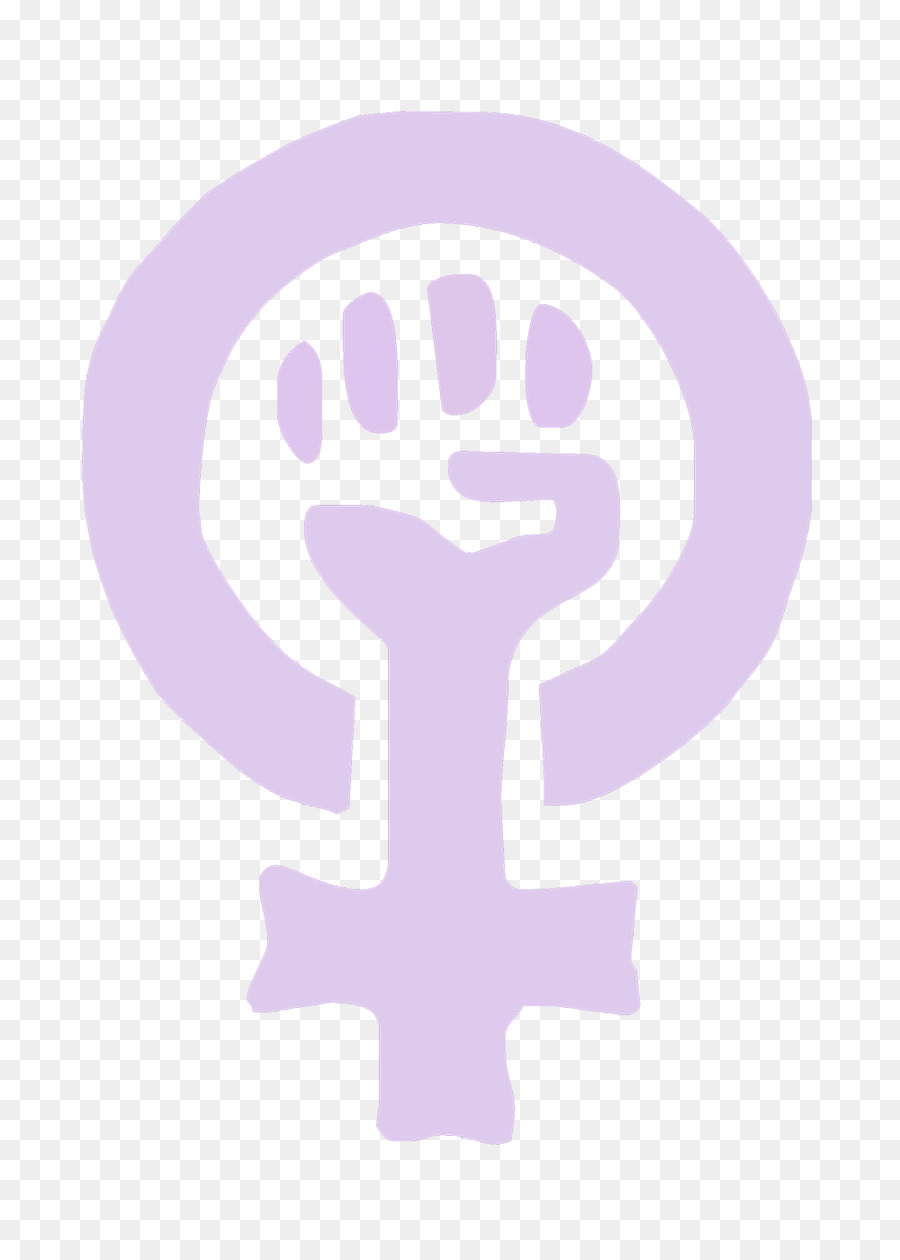 Feminism Power Symbol Raised Fist Gender Symbol Pink Symbol Of