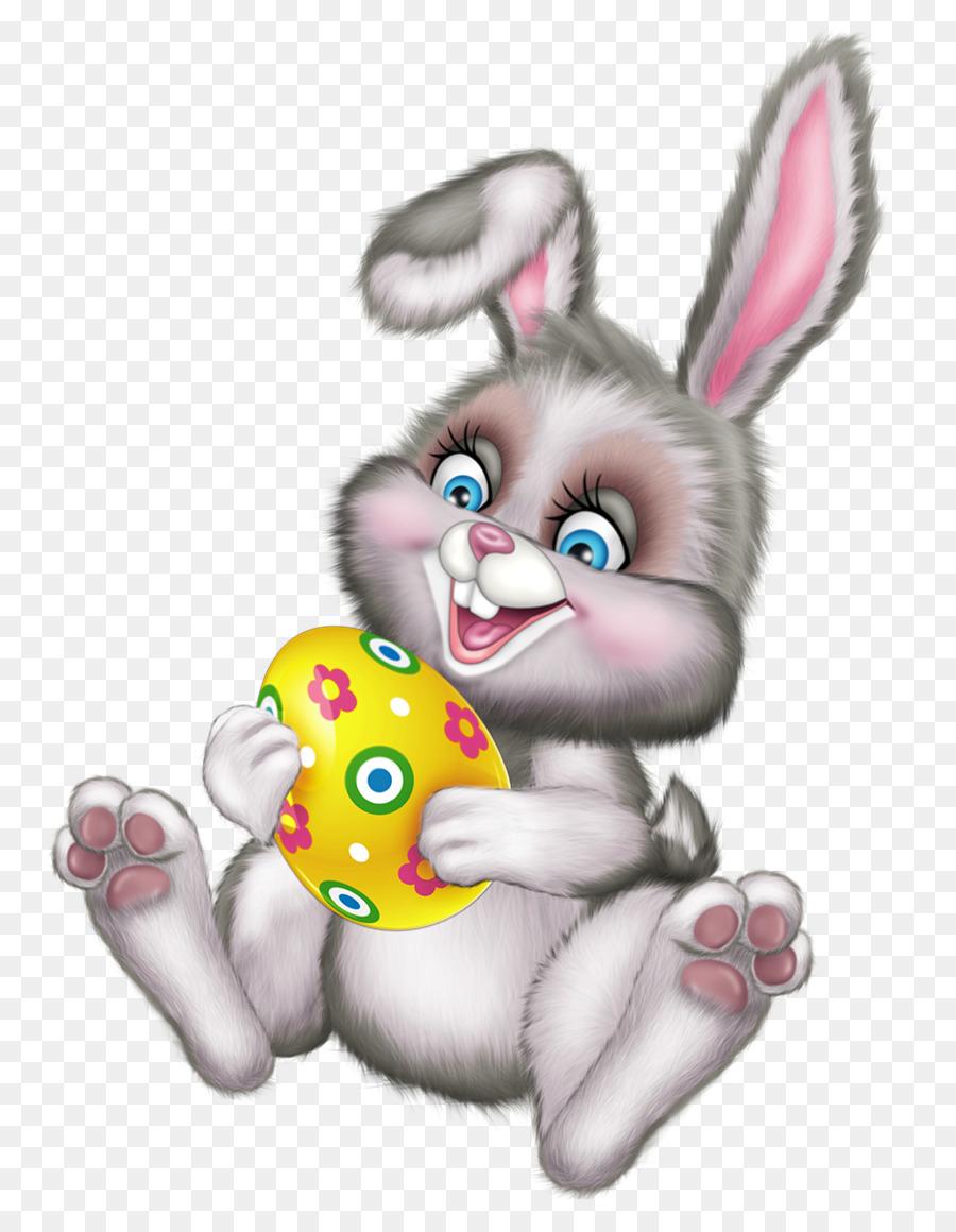 Conejito de pascua huevo de Pascua Clip art - Los huevos y los ...