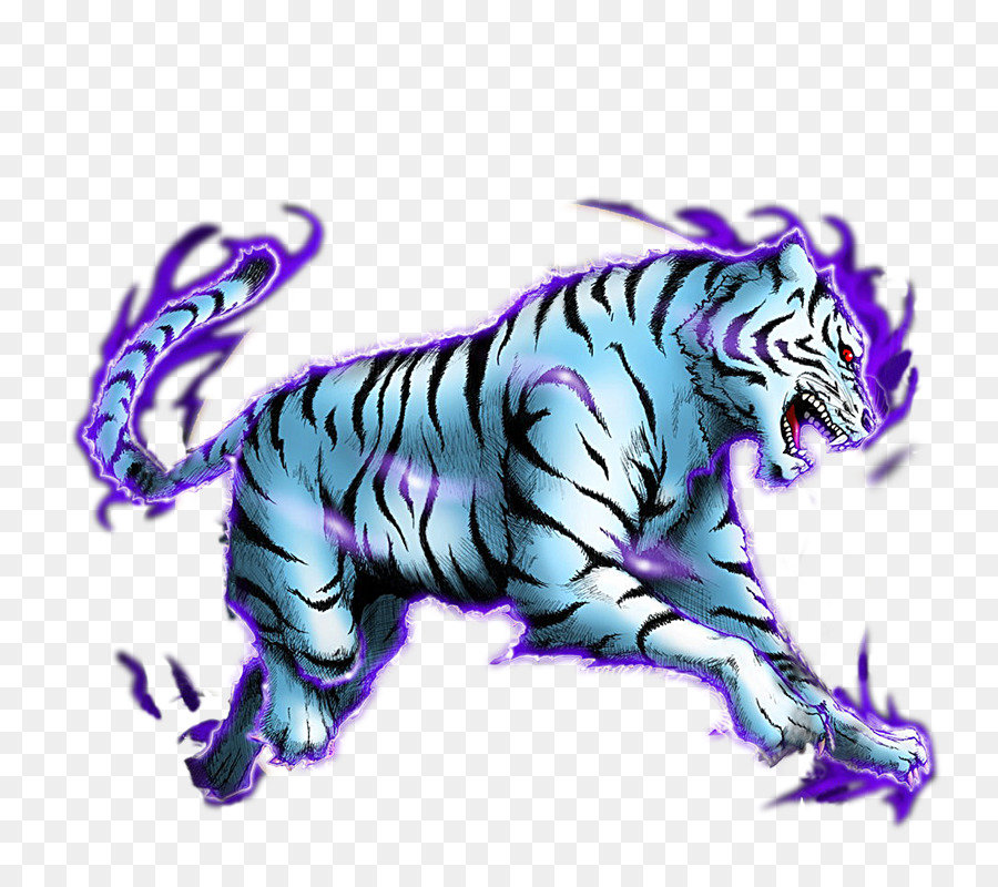 White Tiger Turtle Four Symbols Black Tortoise Tiger Png Download
