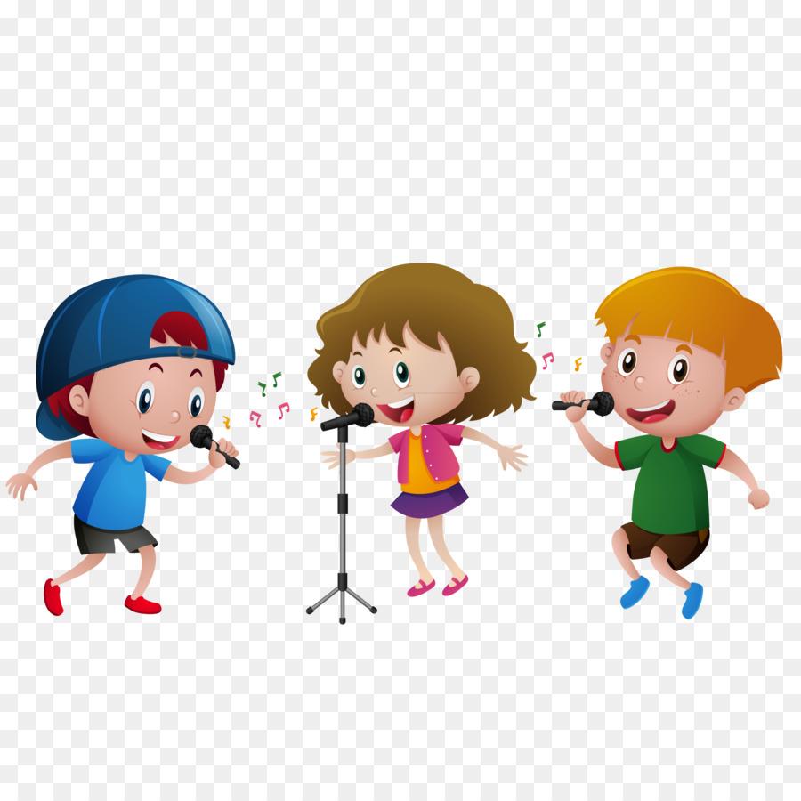 Kids Singing Clipart Dance Singing C...