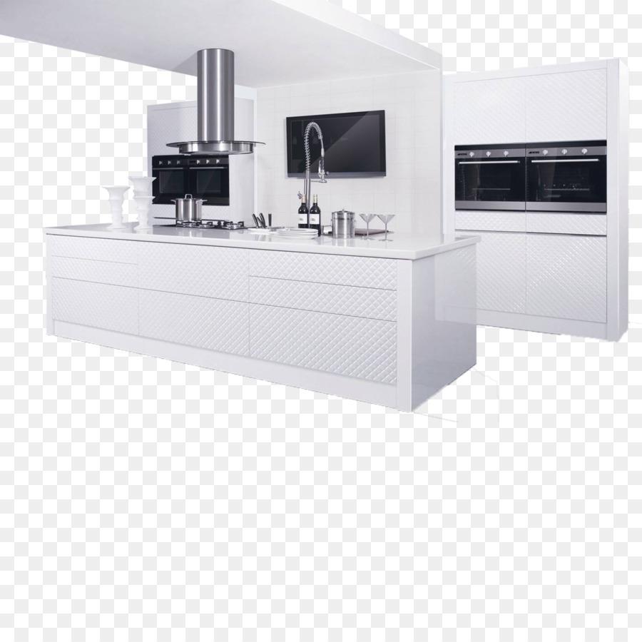 Küche Schrank Schränke Möbel - Weiß-Küche-Schränke png herunterladen ...