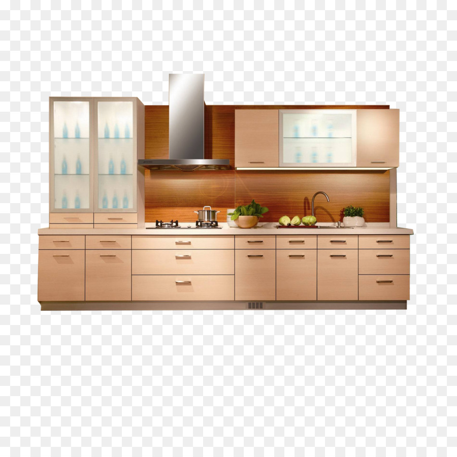 Furniture Kitchen Cabinetry Angle Flooring Png