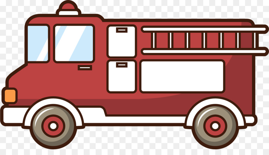 Araba Motorlu Araç Itfaiye Itfaiyeci çizimi Kırmızı Itfaiye Png