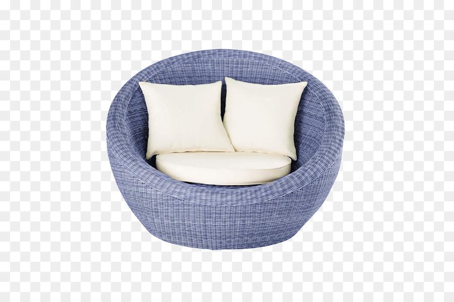 Tabelle Fauteuil Garten Möbel Stuhl   Blau Sofa