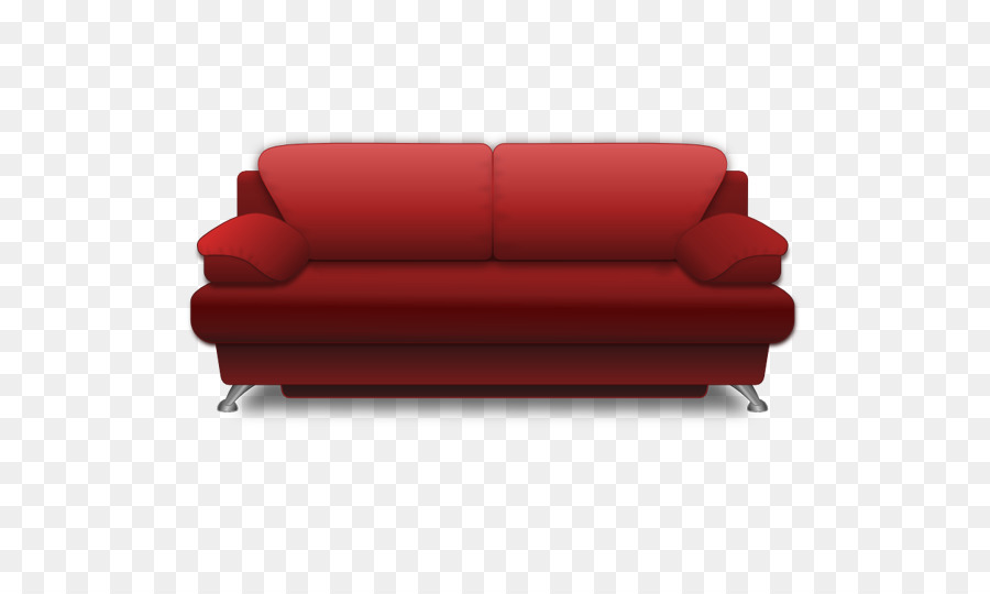 Couch Living Room Chair Clip Art   Red Sofa