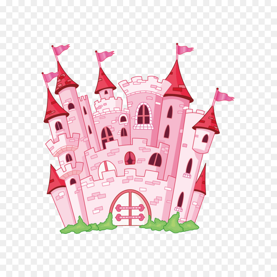Kiss Disney Princess Castle Royalty Free Clip Art Vector Creative Vektor Kreatif