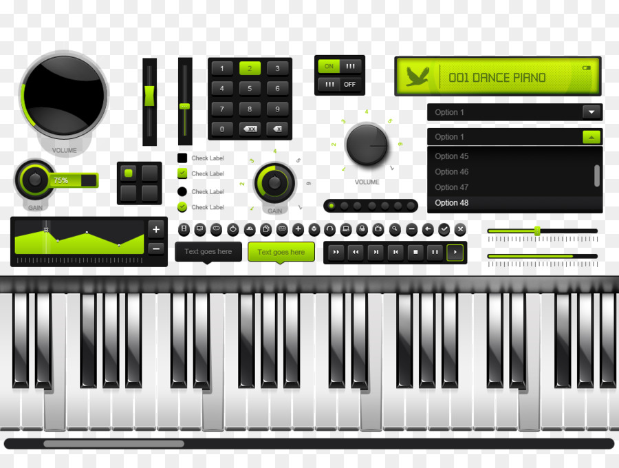 Digital Piano Electric Musical Keyboard