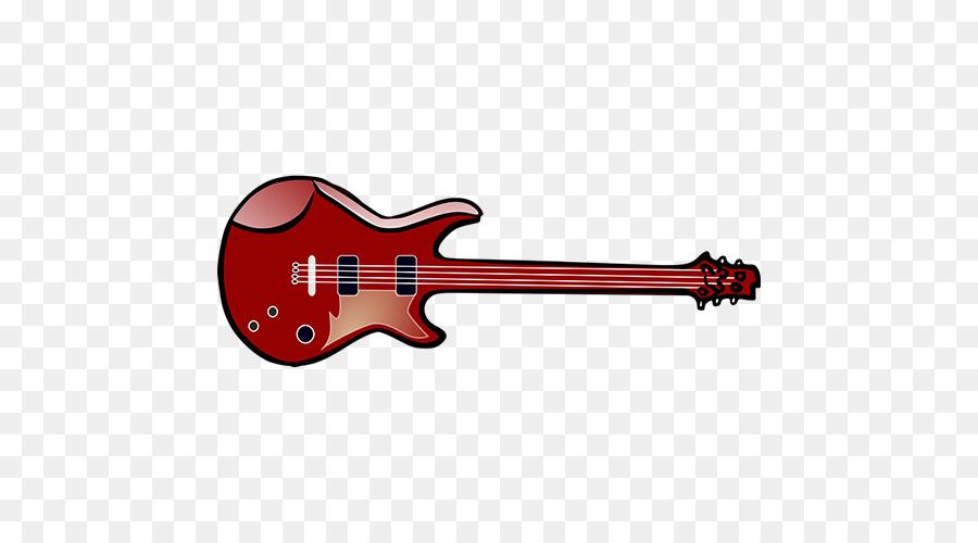 Elektro Gitar Karikatür çizim Kırmızı Gitar Png Indir 500500