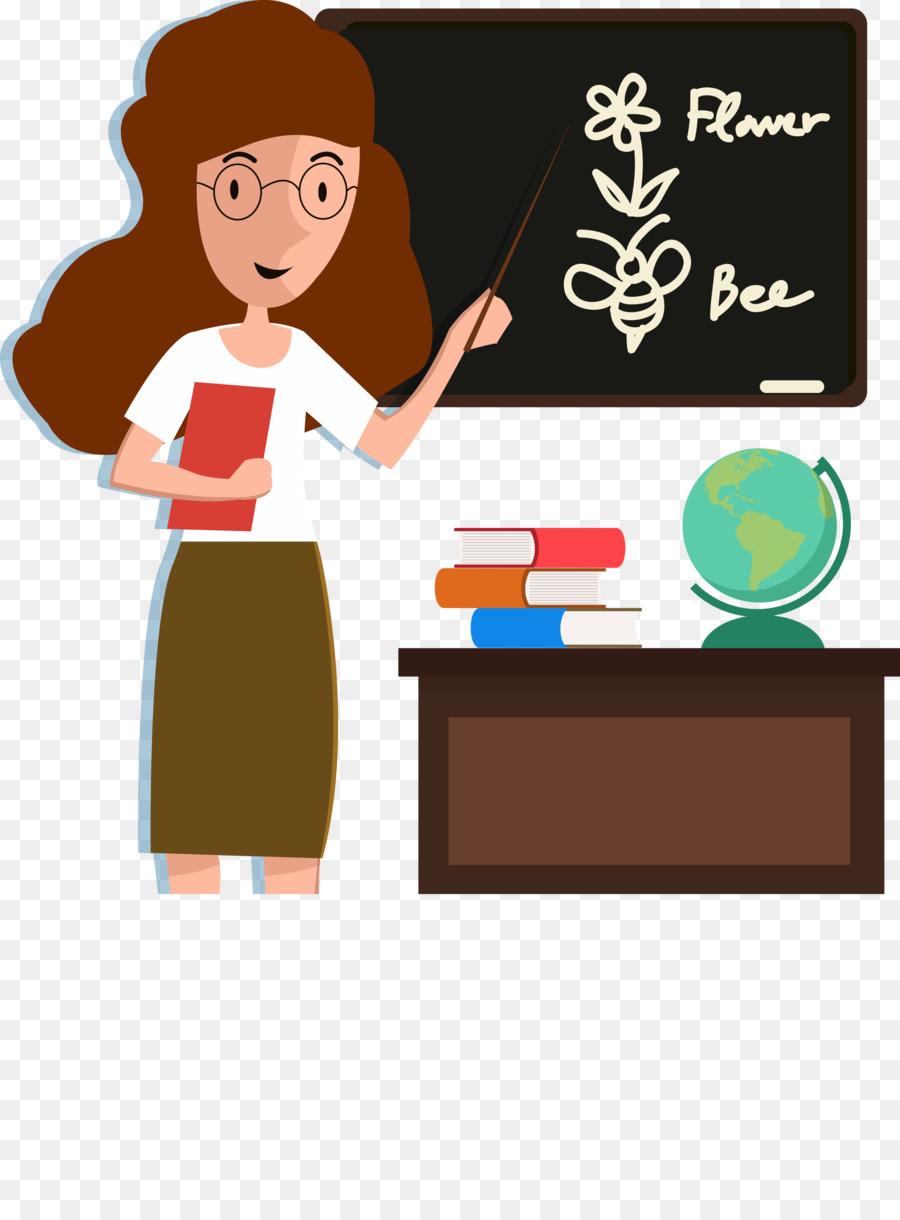 student teacher classroom cartoon english teacher png