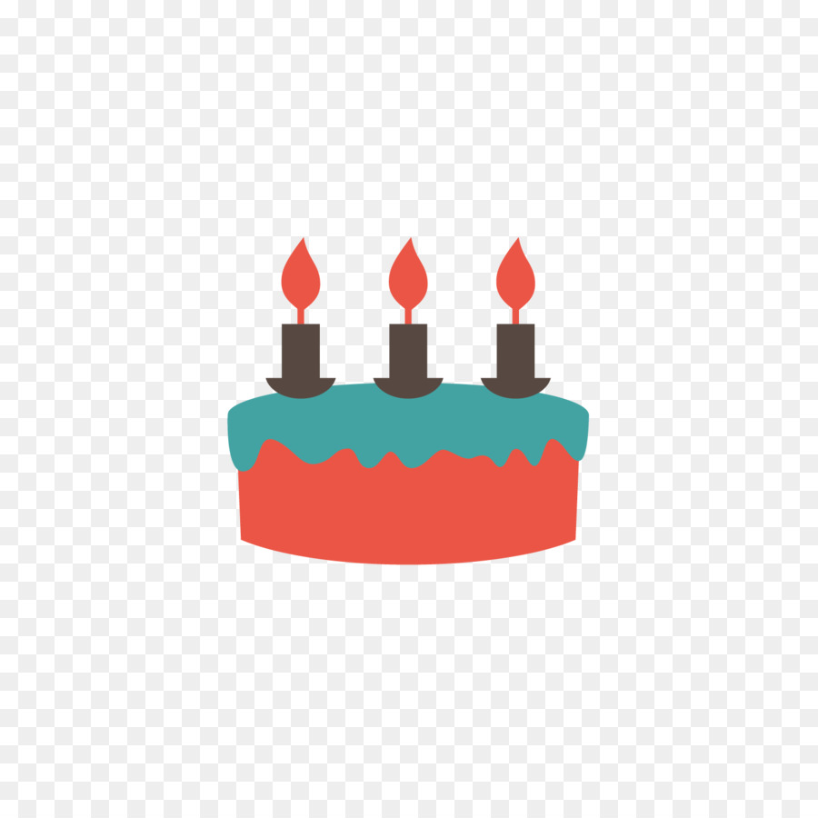 Birthday Cake Cartoon Hand Painted Birthday Cake Vector Png Png