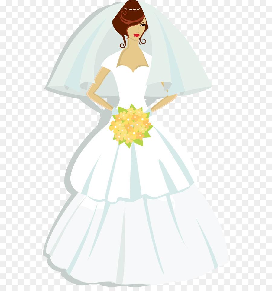 Contemporary Western wedding dress T-shirt Bride - Women wear a ...