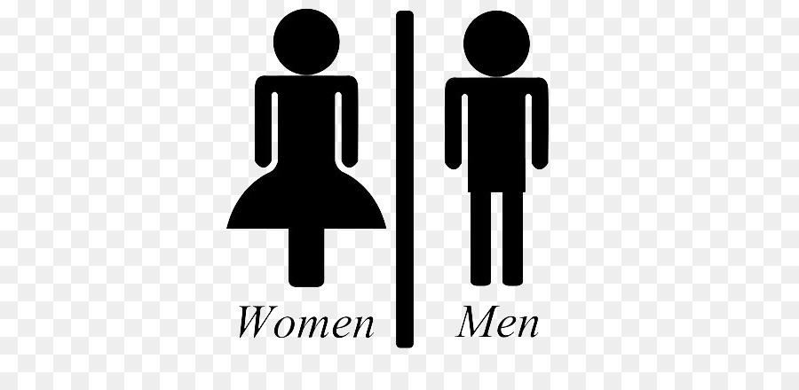 Logo Download Toilet - Men and women sign png download - 400*424 ...