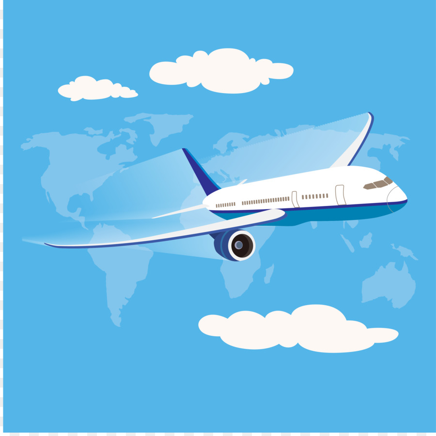 airplane flight aircraft clip art sky aviation aircraft vector