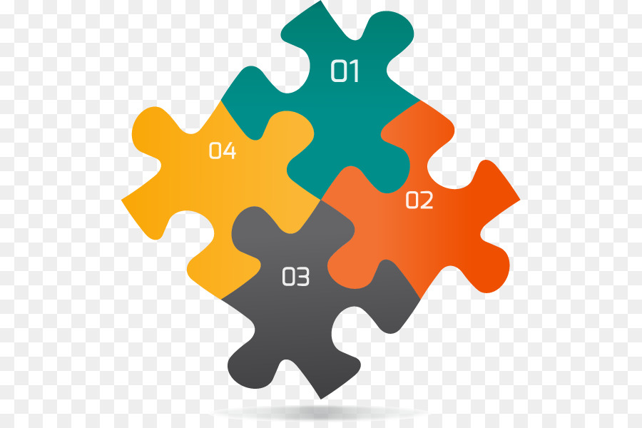 Jigsaw Puzzle Infographic Graphic Design Four Creative Puzzles Ppt - Jigsaw graphic for powerpoint