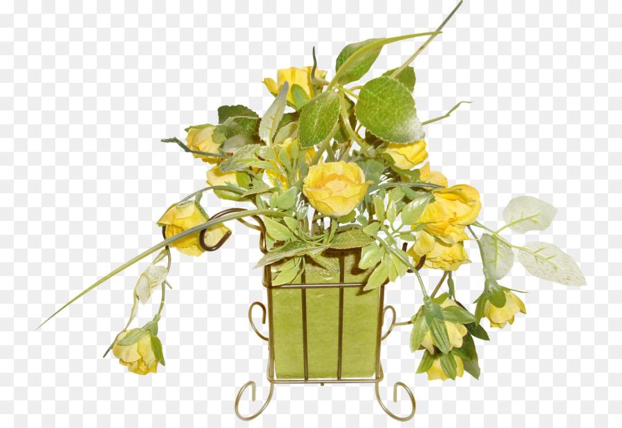 Flower Vase Cartoon Painted Floral Png Download 800611 Free