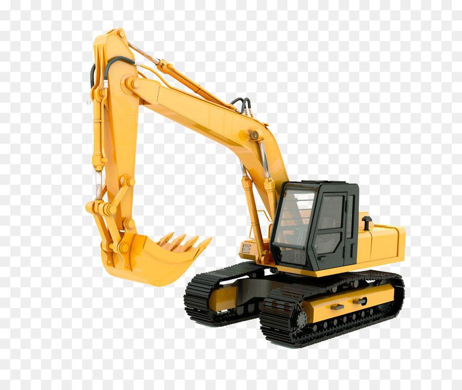 Alat Berat Excavator Traktor Mesin Teknik Arsitektur Situs