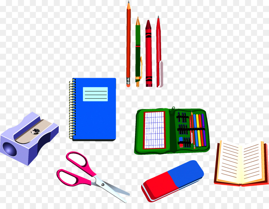 school supplies drawing clip art learning tools png download rh kisspng com