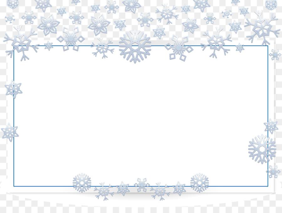 Fotorahmen Weihnachten.Weihnachten Symbol Schneeflocken Rahmen Png Herunterladen 960