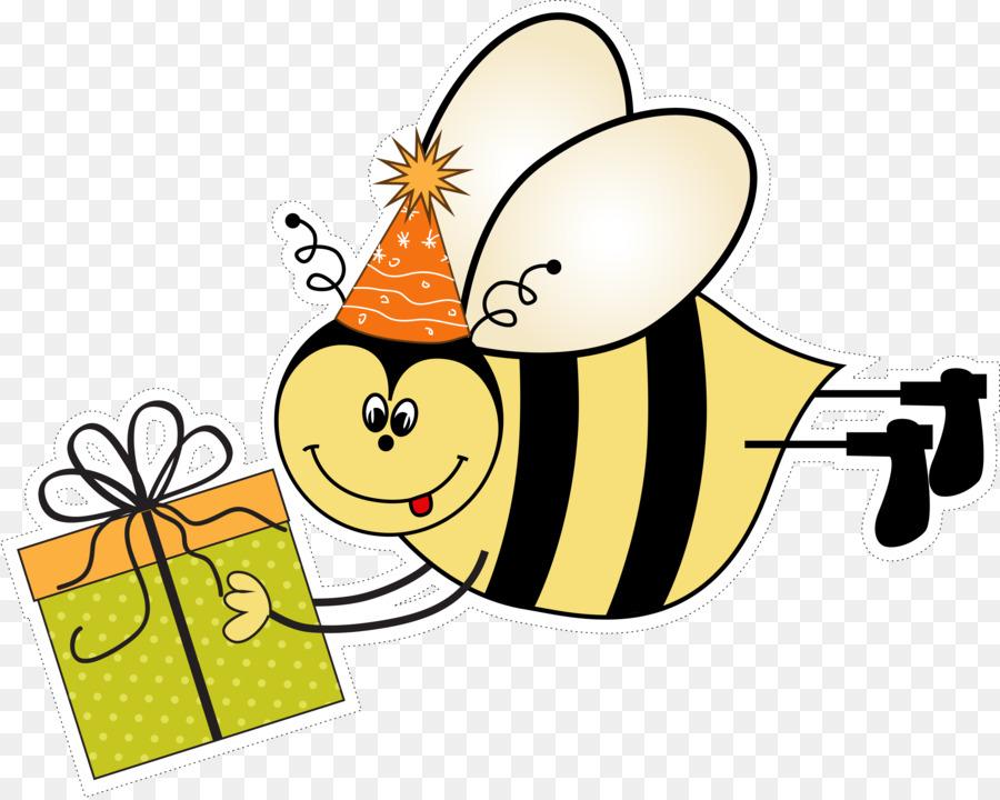 Wedding Invitation Greeting Card Birthday E Card Cartoon Bees