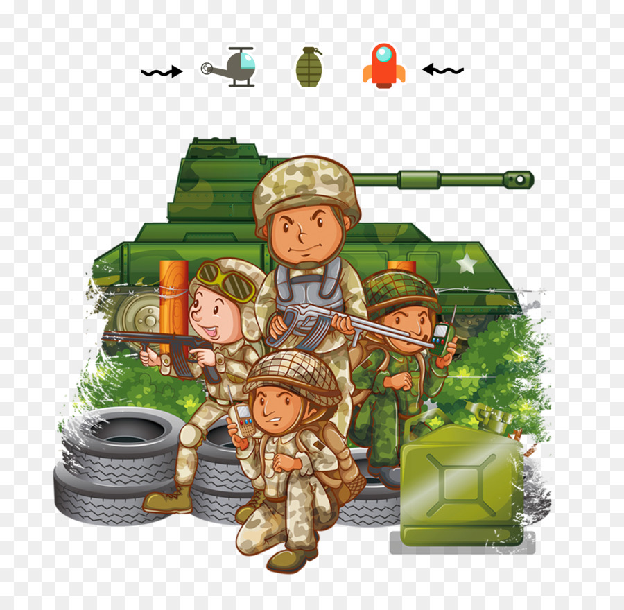 royalty free soldier army military military cartoon png download
