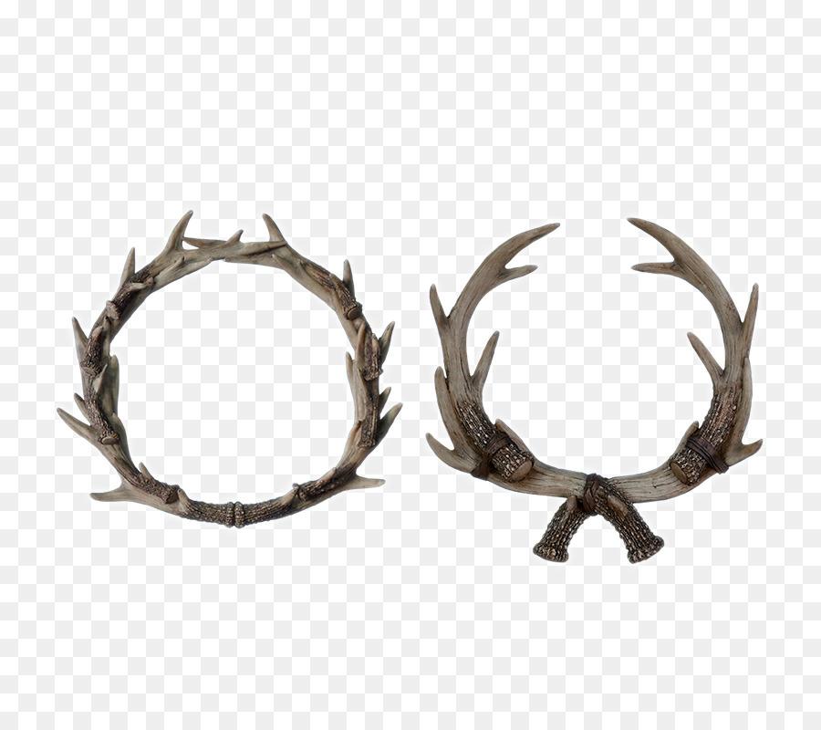 moose antler elkhorn fern antlers home decoration - Christmas Moose Home Decor