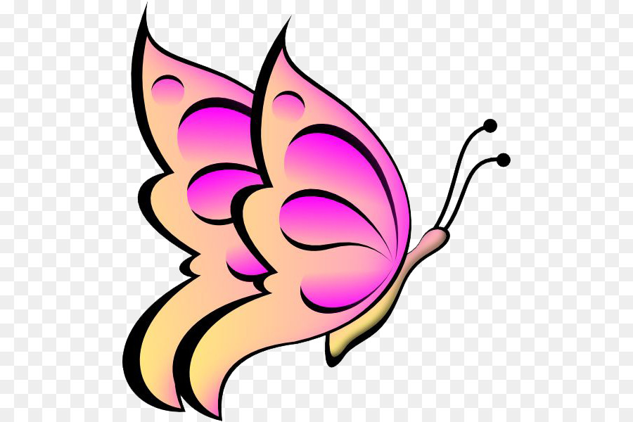 butterfly clip art butterflies vector png download 552 599 rh kisspng com