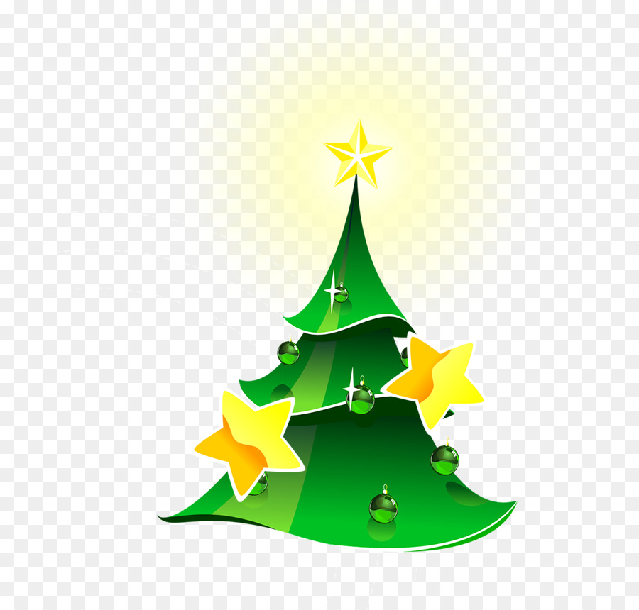 Christmas Tree Green Illustration Christmas Tree Png Download
