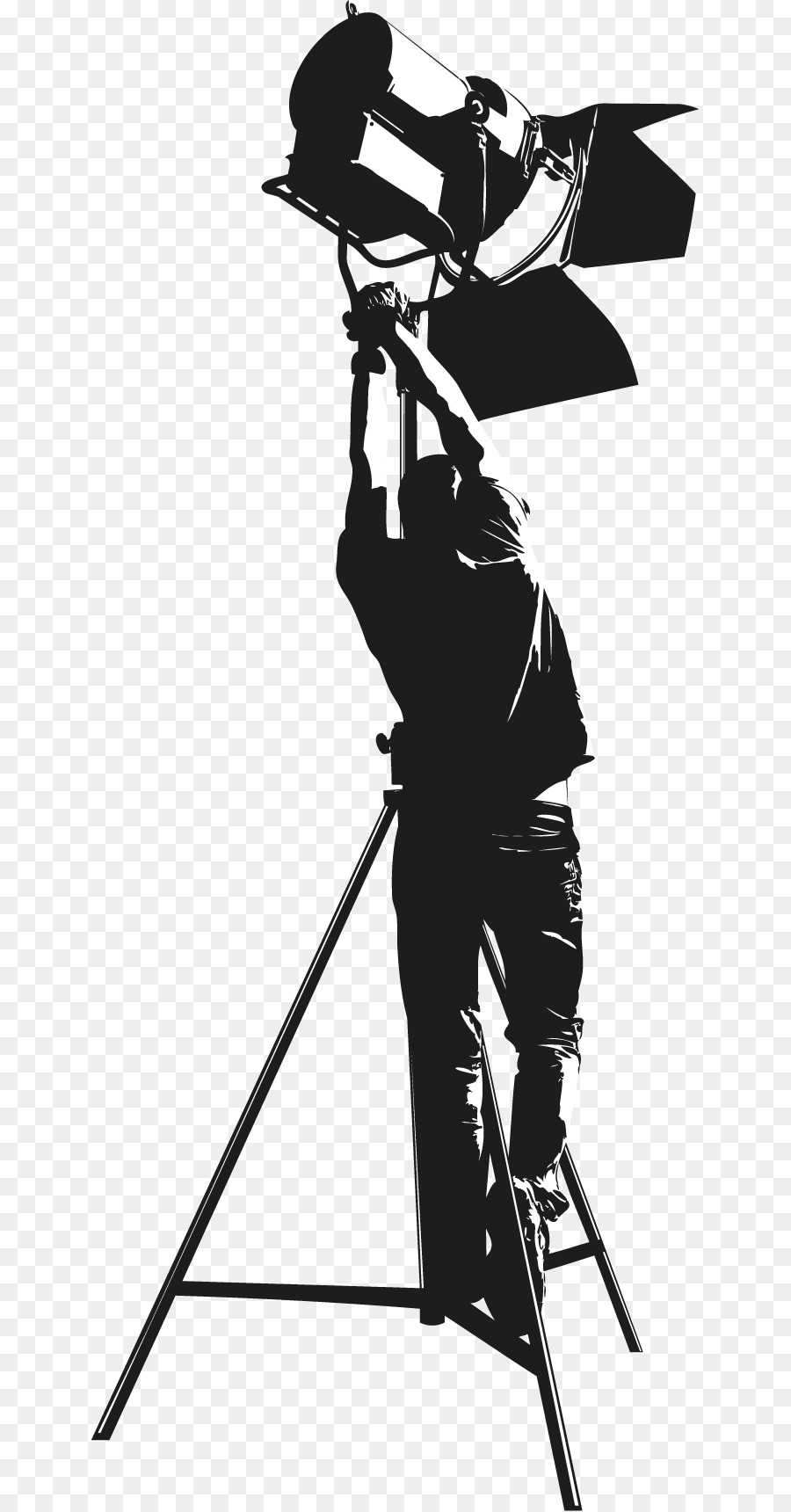 lighting technician. Lighting Technician Stock Photography Royalty-free - Black Photographer