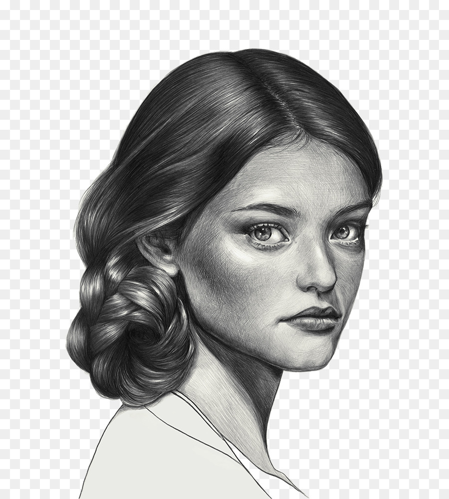 Black and white drawing pencil sketch hand painted beauty png download 7241000 free transparent black and white png download