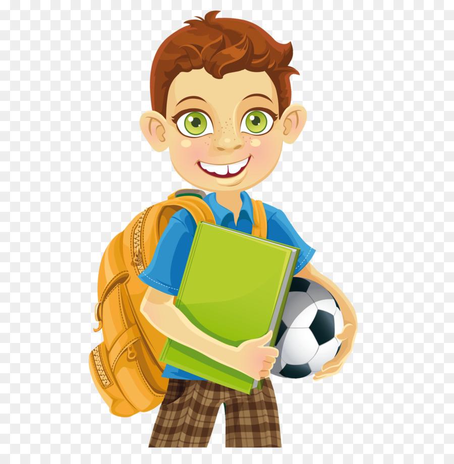 Chico Ilustración Estudante Niño Puede Mochila De Stock Foto R0BqBa6A