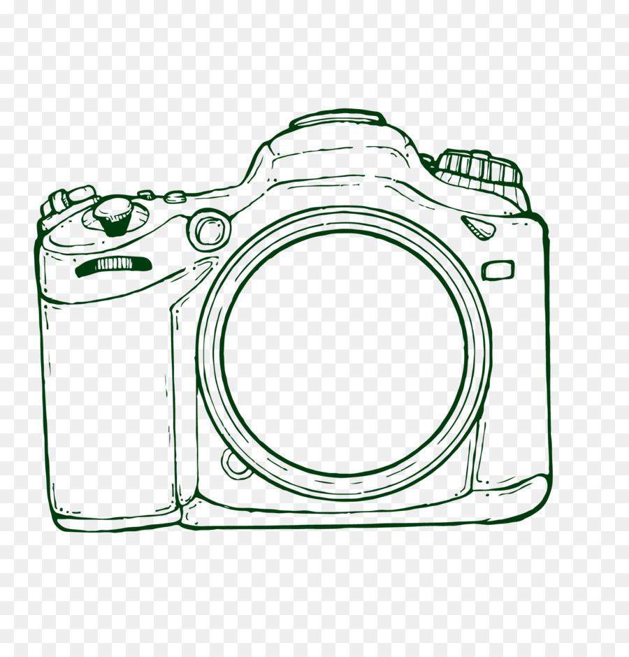 Drawing Camera Hand Drawn Camera Vector Png Download 1728 1767