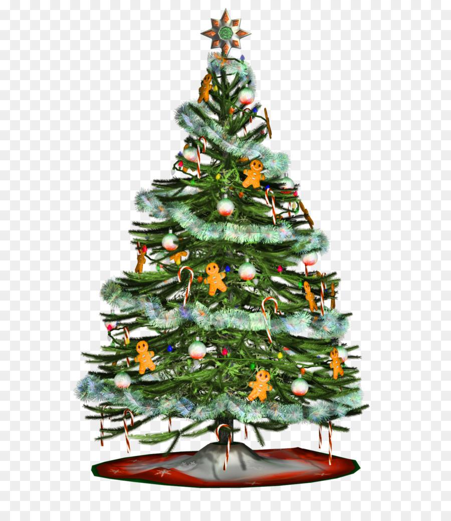 christmas tree tinsel clip art christmas tree - Christmas Tree Tinsel