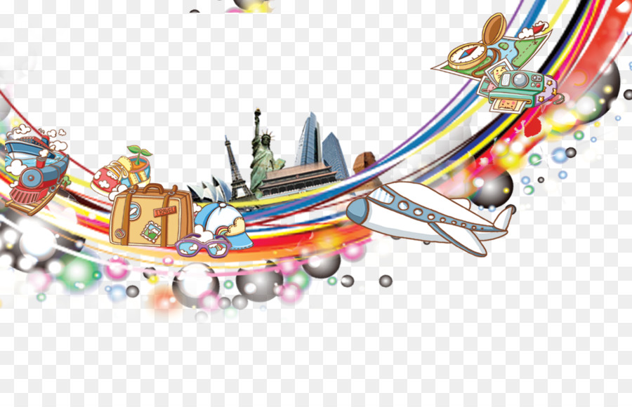Airplane - Rainbow frame material png download - 1394*884 - Free ...