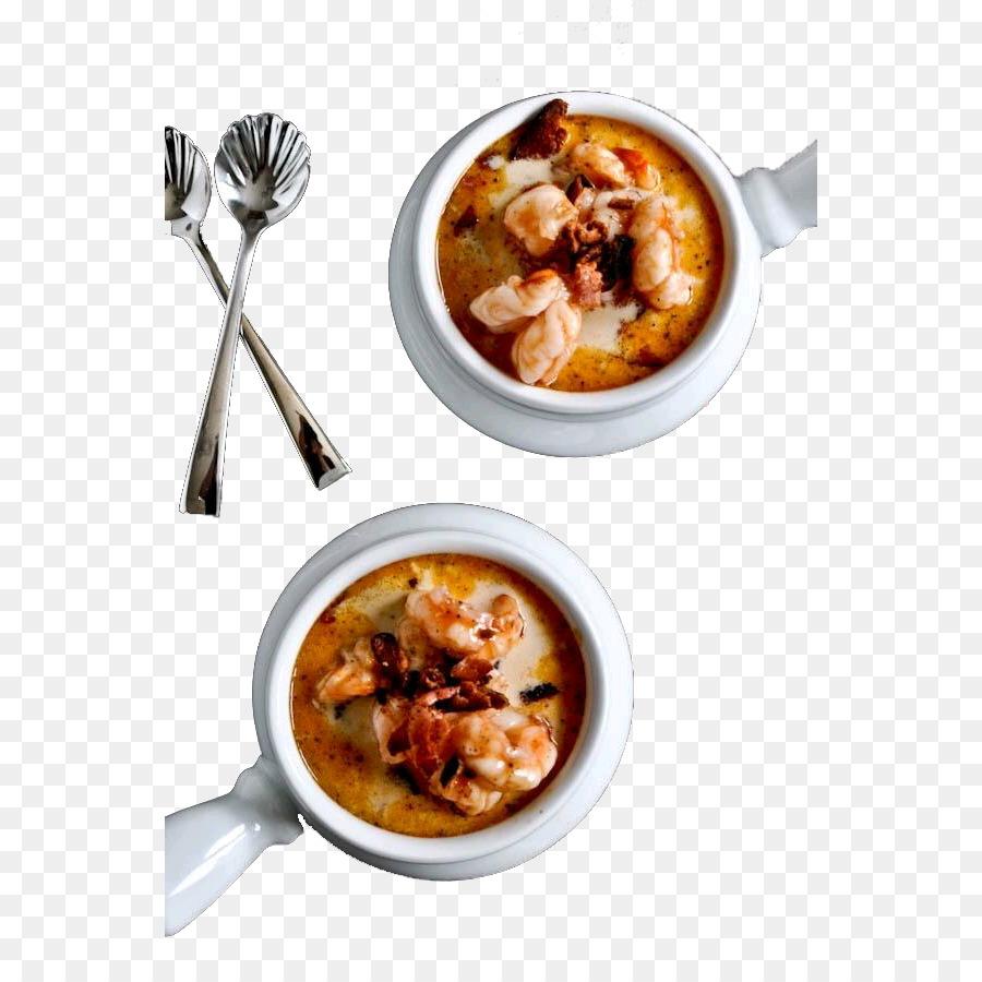 Karidesli Mısır Çorbası