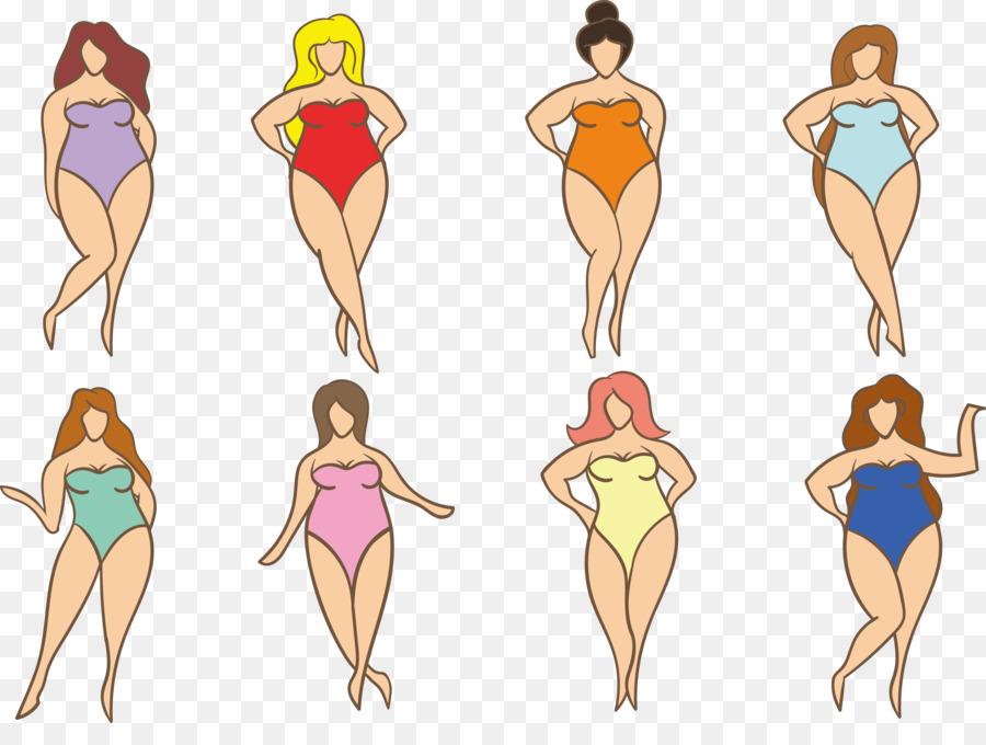 Ropa De Mujer De La Ilustración - Ropa de mujer contorno del cuerpo ...