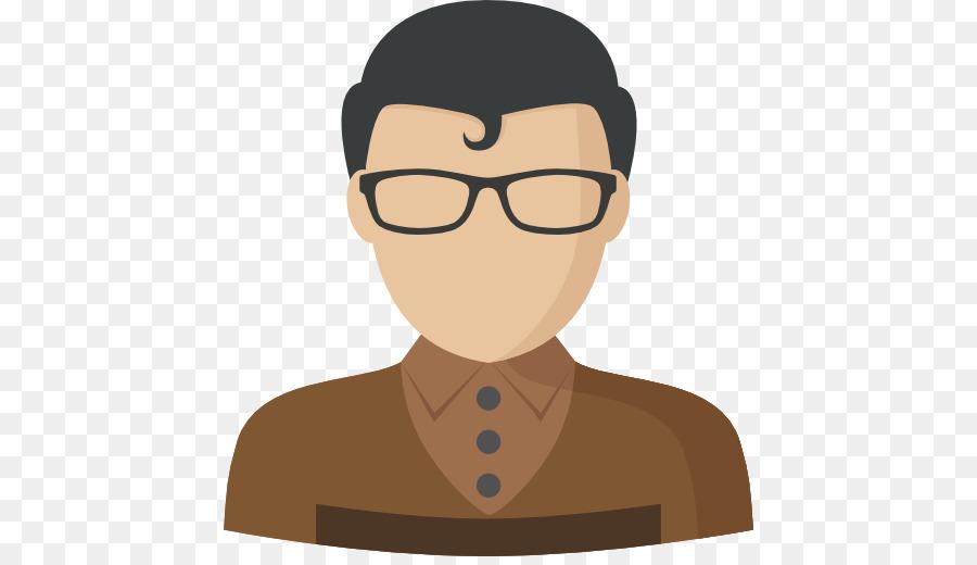 glasses Cartoon boy with