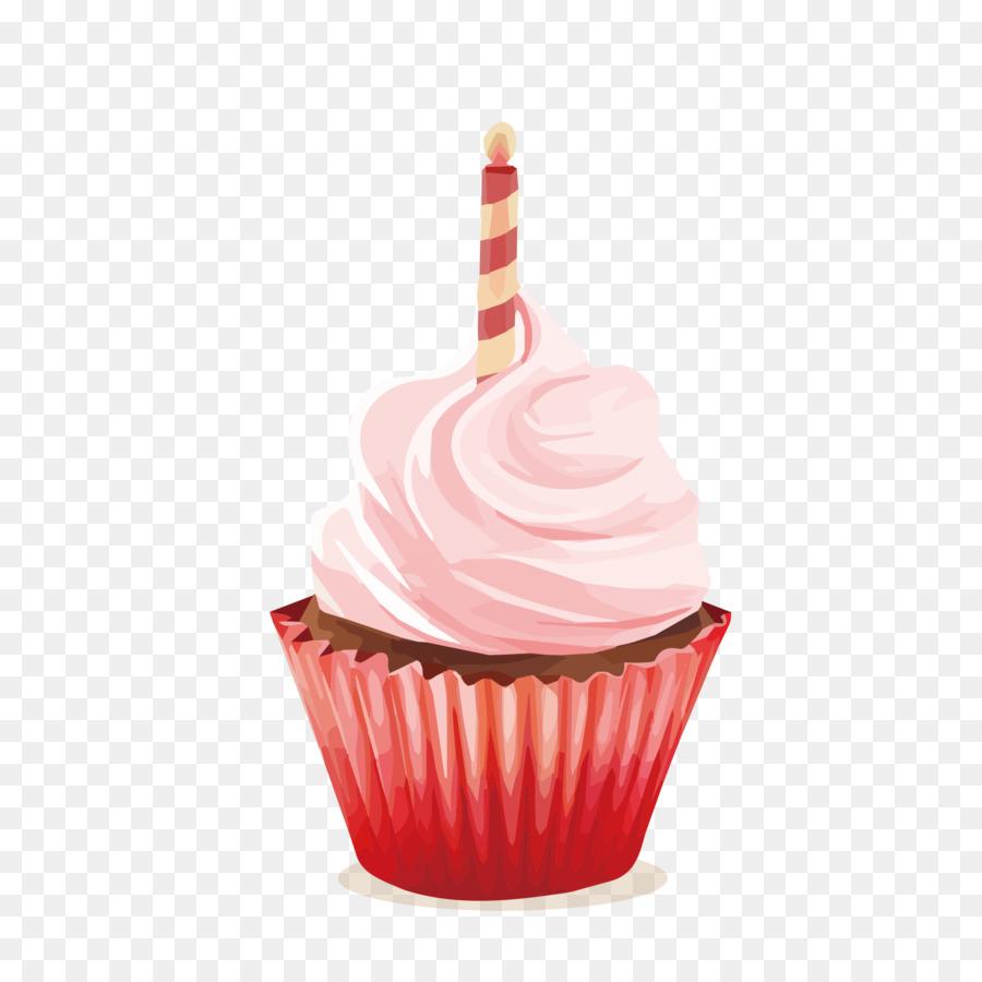 Cupcake Birthday Cake Egg Tart Icing Cup PNG