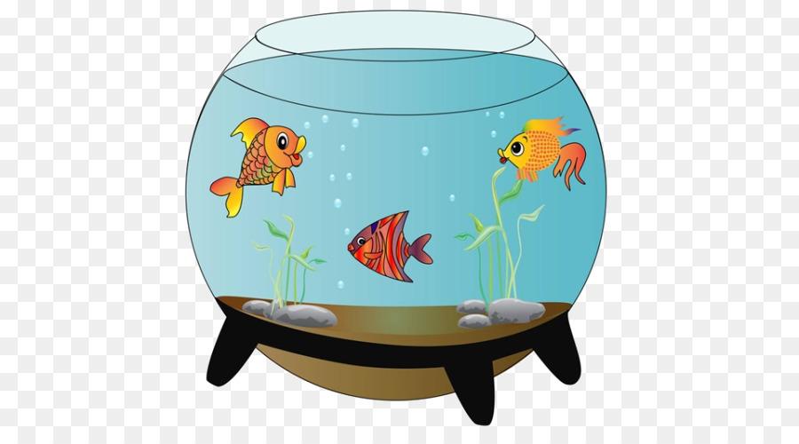 Carassius Auratus Siamese Fighting Fish Aquarium Clip Art Cartoon