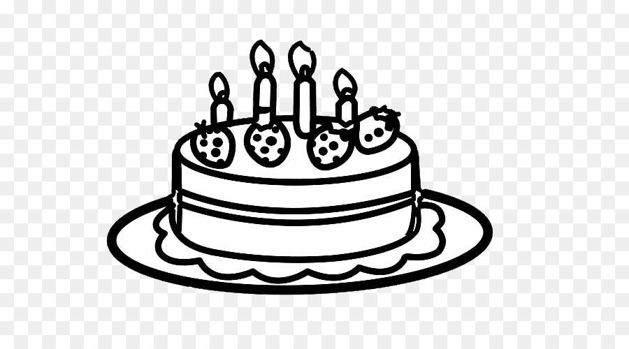 Geburtstag Kuchen Milch Kuchen Einfache Pen Erdbeere Grossen Kuchen