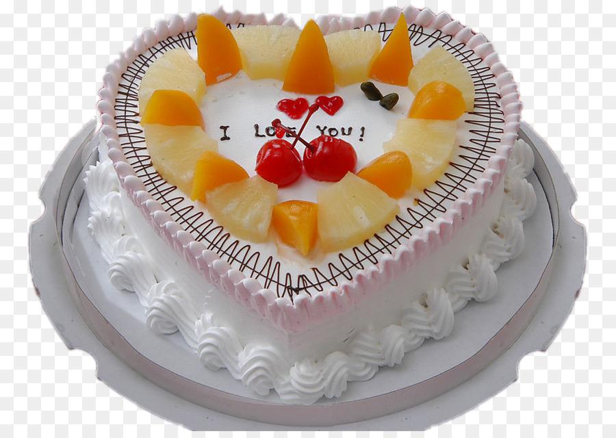 Birthday Cake Chiffon Bakery Fruitcake Cream