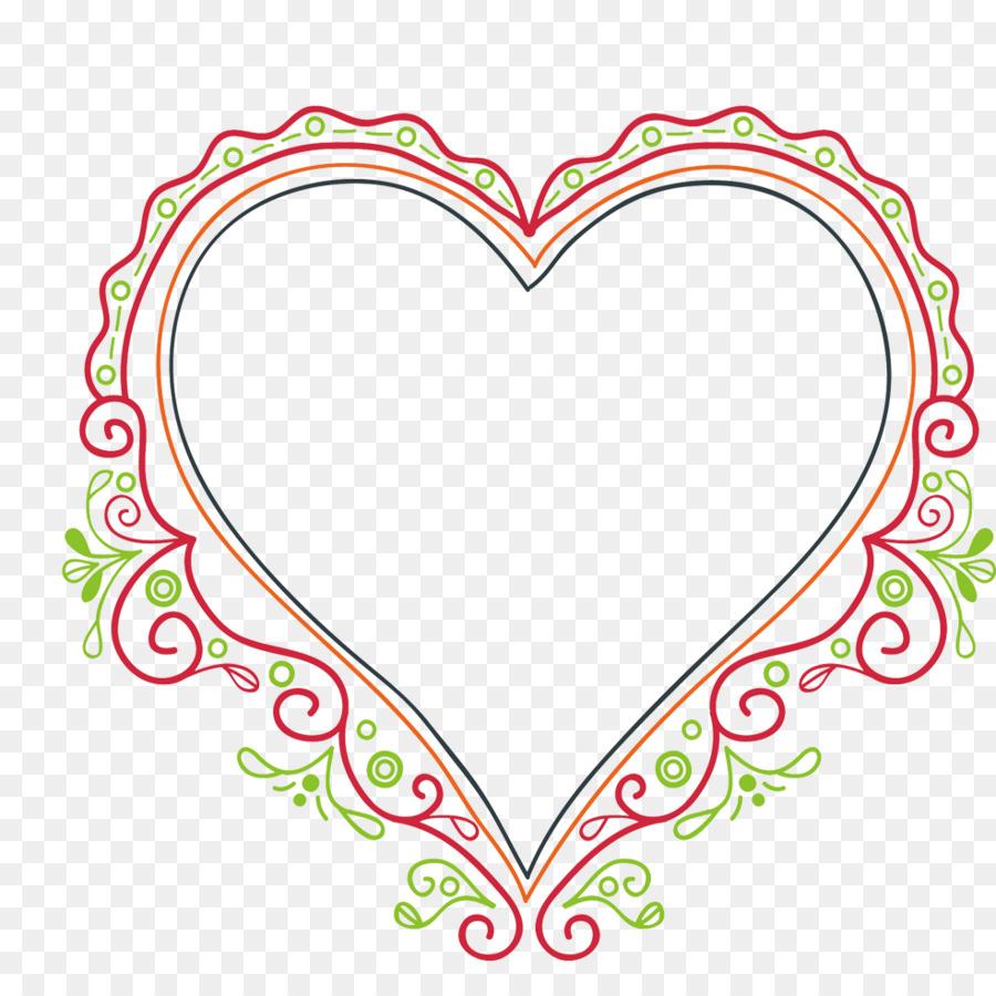 Corazón - Corazón en forma de marco Formatos De Archivo De Imagen ...