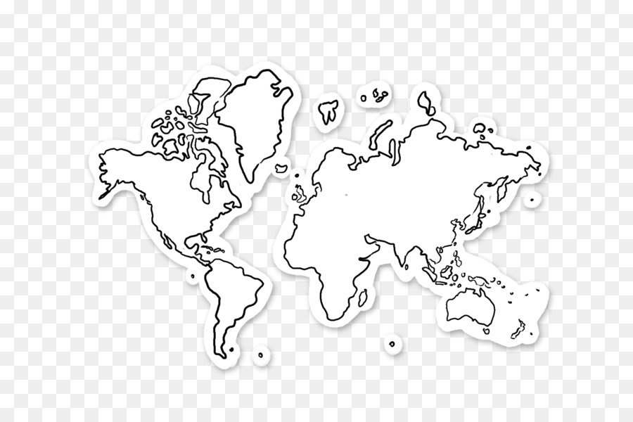 World map World map - Hand-drawn map png download - 1620*1080 - Free ...