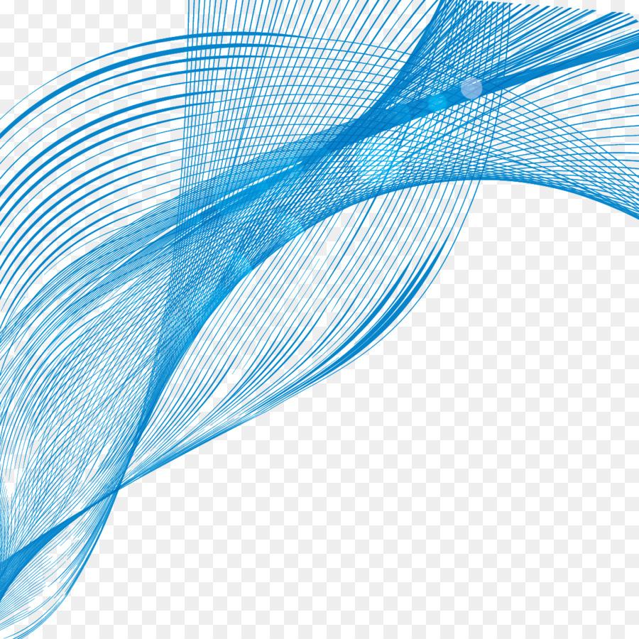line blue curve shape blue wavy line curve png download 1181