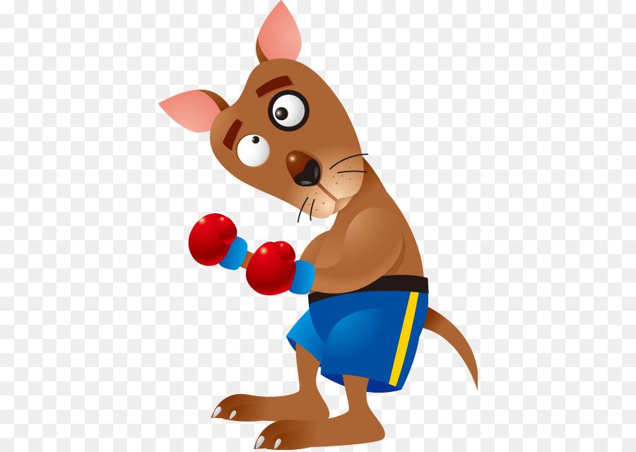 boxing kangaroo cartoon clip art kangaroo png download 452 637 rh kisspng com Pink Boxing Gloves Clip Art Boxing Gloves Drawing