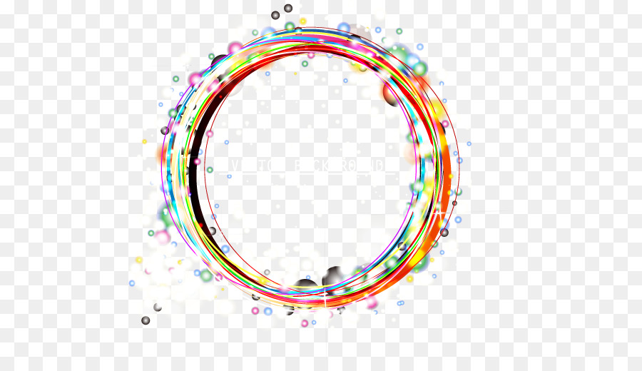 Light Circle Clip Art Color Light Effect Circle Frame