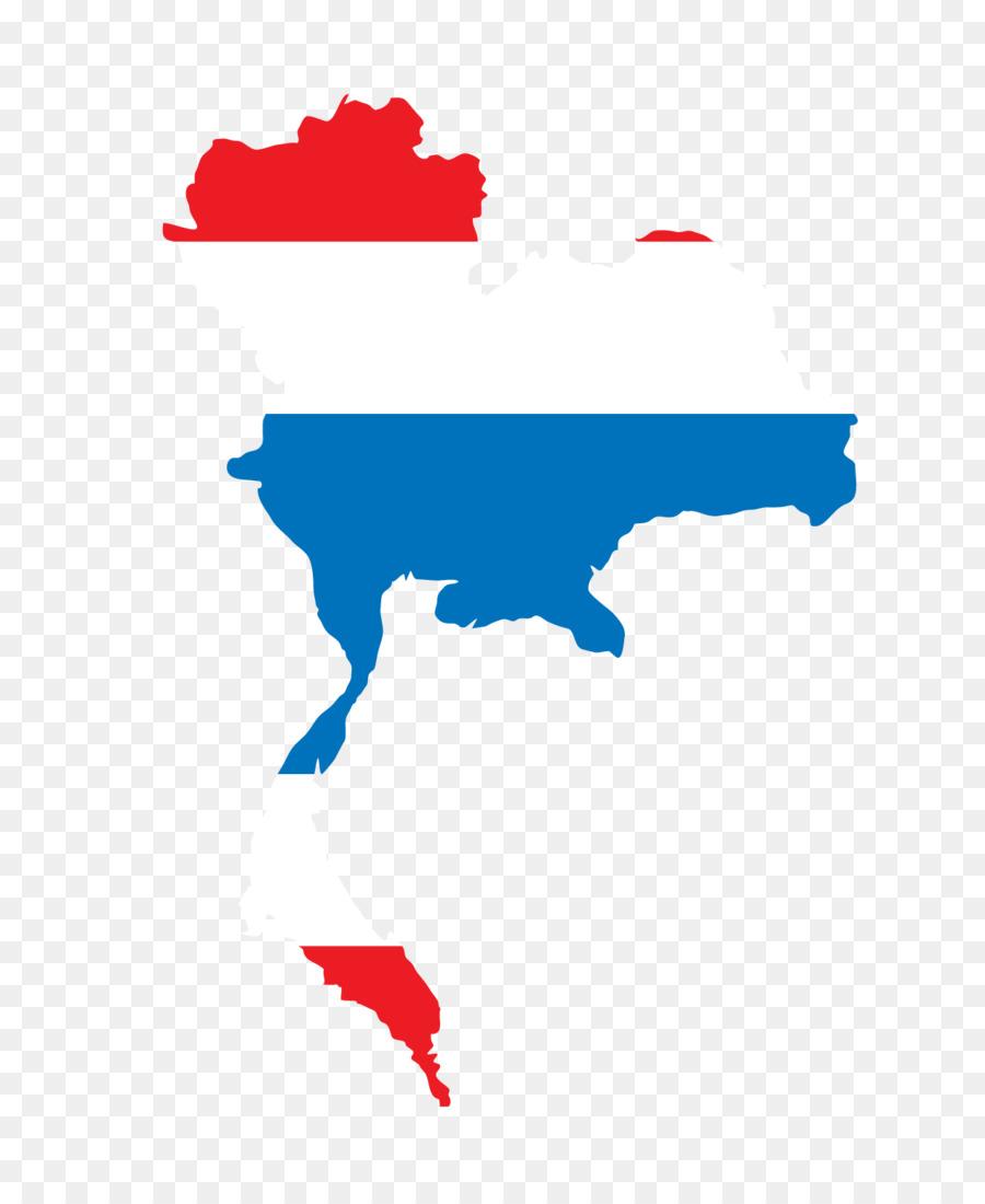 Flag of Thailand Euclidean vector Illustration - Vector Map png ...