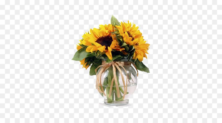 Common sunflower flower bouquet vase tulip bouquet of yellow common sunflower flower bouquet vase tulip bouquet of yellow flowers mightylinksfo